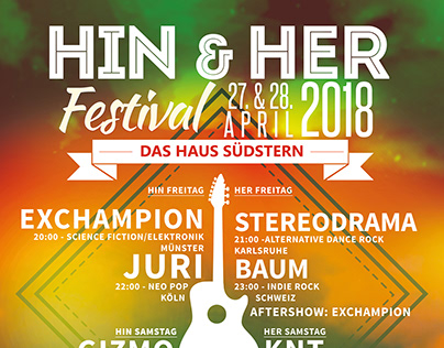 Hin & Her Festival - Poster