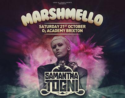 Art Direction for DJ Samantha Togni - London