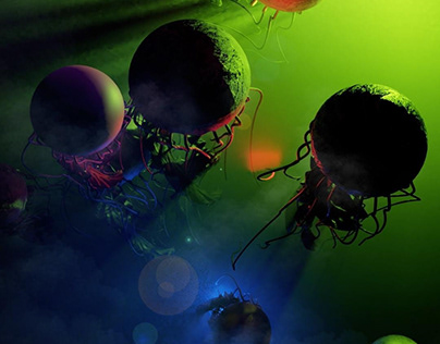 """""""... attack of giant jellyfish from deep space ..."""""""