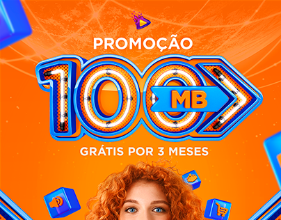 PROMOÇÃO 100 MB - INTERNET