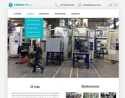 Farkas - webdesign