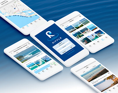 The Surf Travel Guide Mobile iOS UI