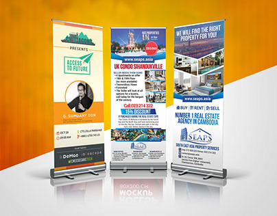 Roll-up Banner Design V1