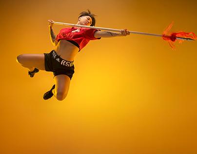 Nilly Cetin martial arts shoot