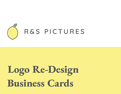 R&S Pictures Logo and Business Cards