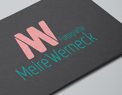 Logotipo e Cartão de Visitas | Meire Werneck Fotografia