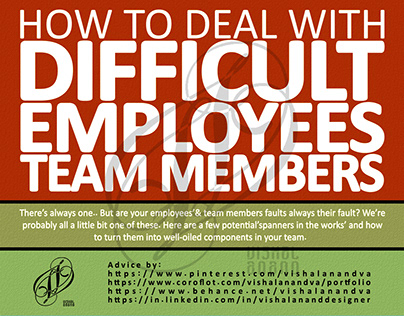 HOW TO DEAL WITH DIFFICULT EMPLOYEES & TEAM MEMBERS