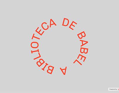 """A Biblioteca de Babel"", a interactive online tale"