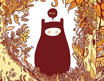 'MORE' graphic novel