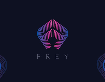 Frey Logo and Mockup