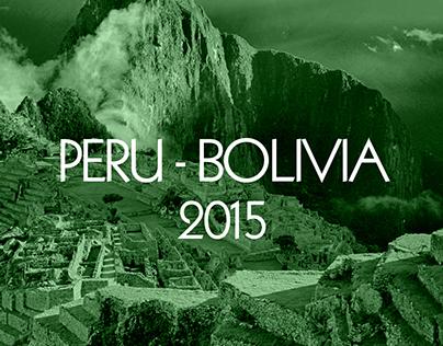 Artistic travel journal around Peru & Bolivia