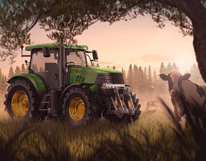 JOHN DEERE - Tractor