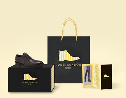 JONES LONDON Branding and Packaging