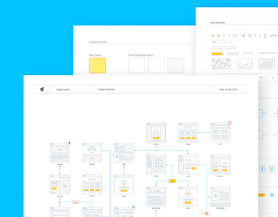 UX Flow | Wireframe Prototyping System