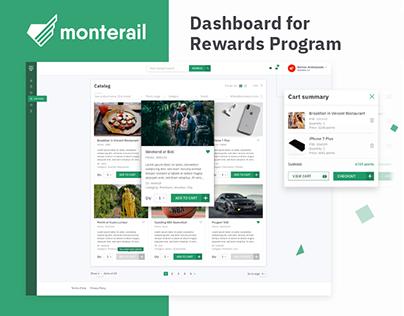 Dashboard for Rewards Program