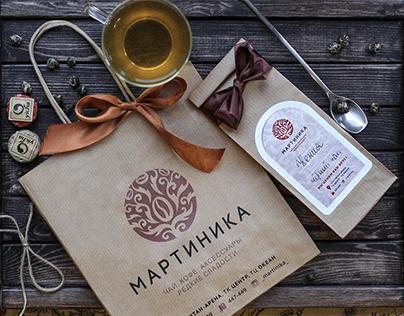 """""""Martinique"""", coffee & tea shop. Corporate identity."""