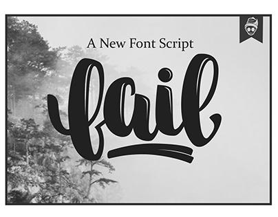 Fail Font Script