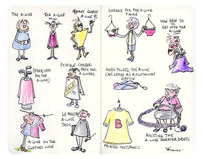 Fashion Cartoon Illustration