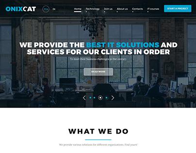 Сайт для IT-компании