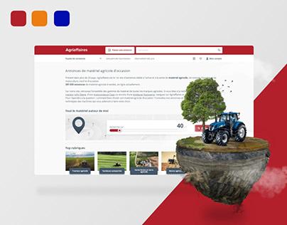 Reponsive Design Agriaffaires