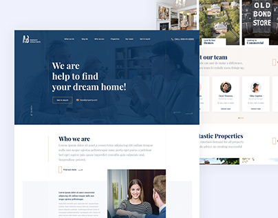 Property Management Web Design