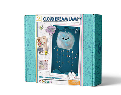 Cloud Dream Lamp, Arts & Crafts - GoldieBlox