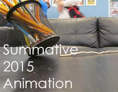 Animation Summative Unit