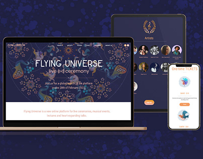 Flying-universe.com - online music event