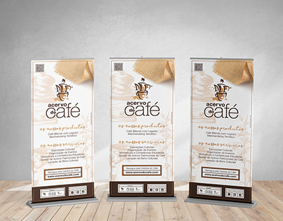 Roll up Design Acervo do Café