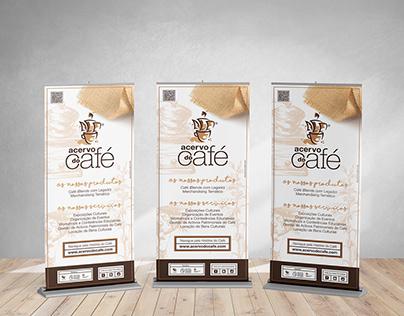 Roll up Design Acervo do Café