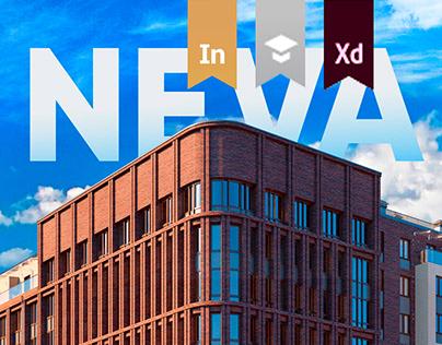 Elite residential complex Neva-Neva
