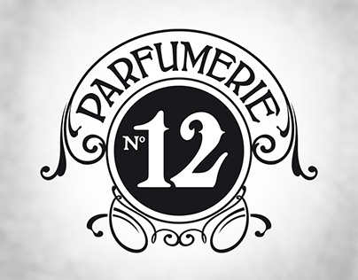 Parfumerie No12, Visual identity for a Parfumerie store