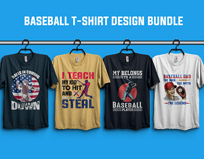 Baseball T-Shirt Design Bundle