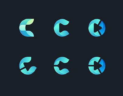 Exploring letter C Logo for Cryptomedic