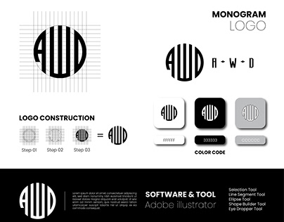 Monogram Type Logo