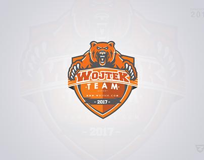 Wojtek Clan Mascot Gaming Logo
