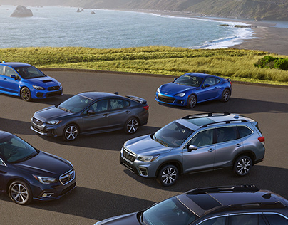 SUBARU The SUV For All You Love