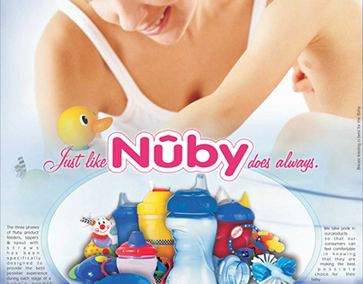 Nuby Press ad (Full-page)