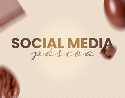 Social Media - Páscoa