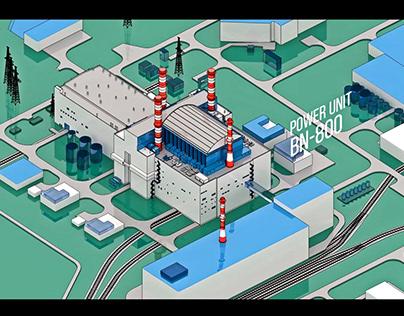 Beloyar nuclear power plant. Rosatom