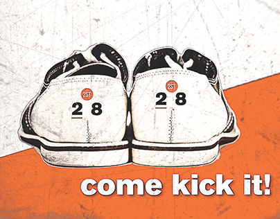 Bowling Fundraising Invitation