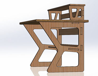CNC Sitting Desk