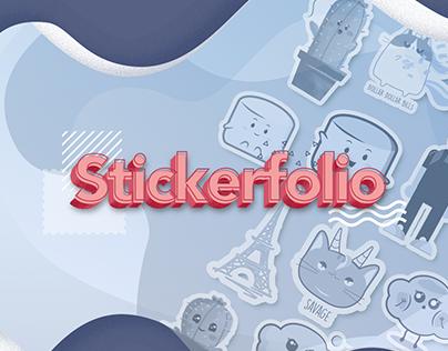 Stickerfolio