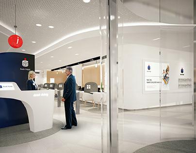 PKO BP Flagship Bank Interior Design