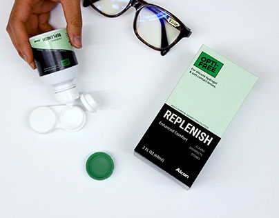 Contact Lens Solution & Container (Packaging)