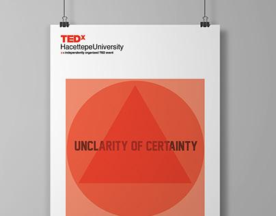 Tedx Hacettepe University poster design