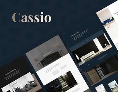 Cassio – AJAX Portfolio WordPress Theme