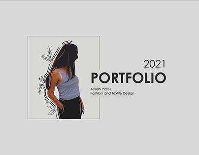 Fashion Design Portfolio 2021