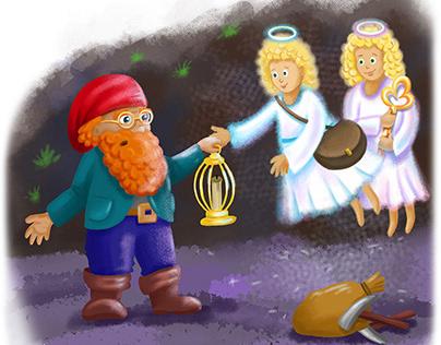 Magic fairy-tale illustrations