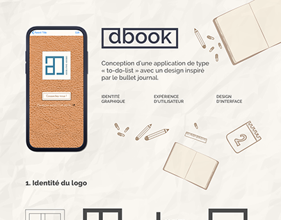 DBOOK - Le daily book digital façon bullet journal